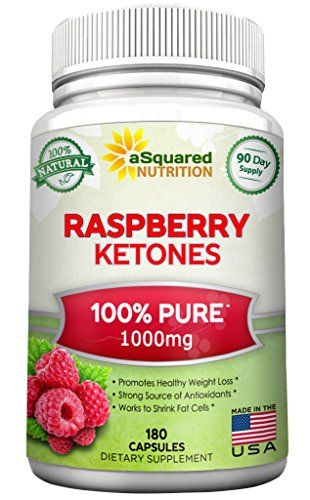 100% Pure Raspberry Ketones 1000mg - 180 Capsules - All Natural Weight Loss Supplement, Max Strength Plus Appetite Suppressant Diet Pills, Premium Lean Health Extract to Boost Energy and Metabolism >>> Want to know more, click on the image.