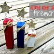 4th of July firecrackers {tutorial}