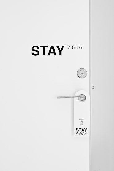 Stay hotel Copenhagen. Designed by John Nielsen