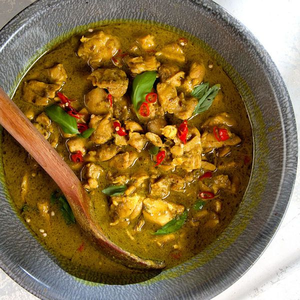 You can buy the green curry paste to make this Thai classic at any Asian market, but it's more than worth making from scratch.