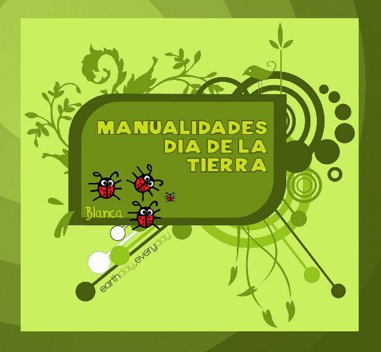 Actividades para Educación Infantil: MANUALIDADES DÍA DE LA TIERRA 2014