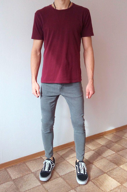 vans old skool jeans skinny garçons garçons tenue in 2020