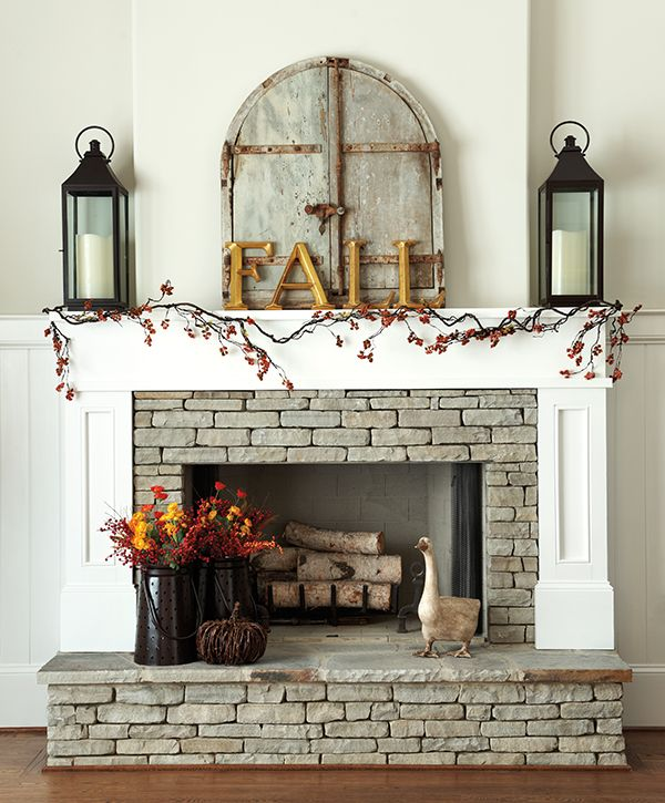 fall fireplaces bring warmth
