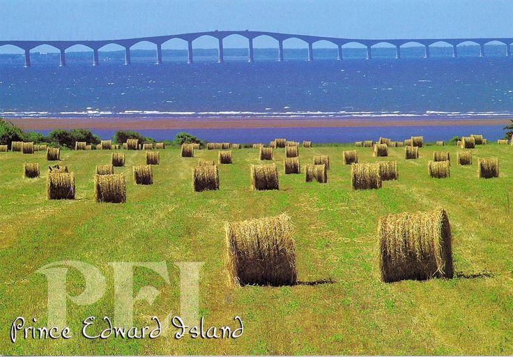 Travels with postcards around the world: PRINCE EDWARD ISLAND