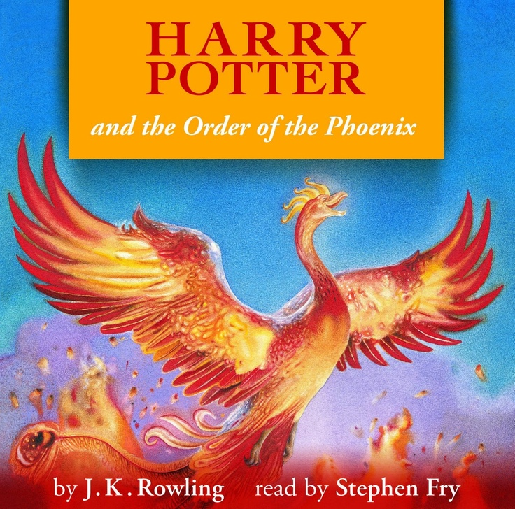 Harry Potter Book Cover Order Of The Phoenix ~ Best images about read in on pinterest good