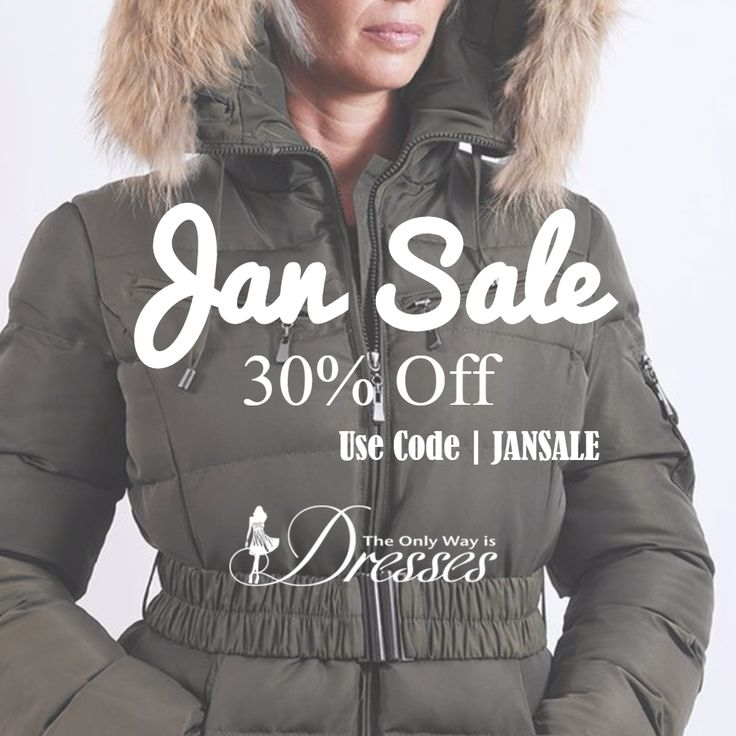 Jan Sale 30% Off Today on Ladies #WinterCoats #Coats #Parka #Fashion #WomensCoats #LadiesCoats http://theonlywayisdresses.com - USe Code JANSALE at Checkout!