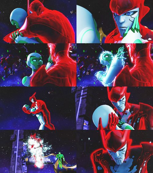 "green lantern: the animated series | I really disliked this episode... Like, ""DC! You continually rip my heart out! You keep killing my favorite characters!"""
