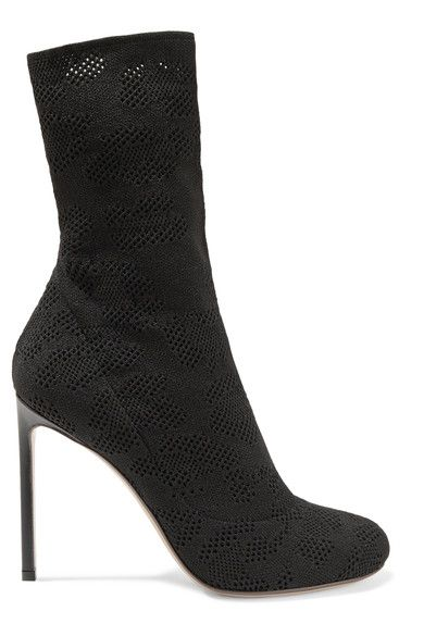 FRANCESCO RUSSO Open-Knit Boots. #francescorusso #shoes #boots
