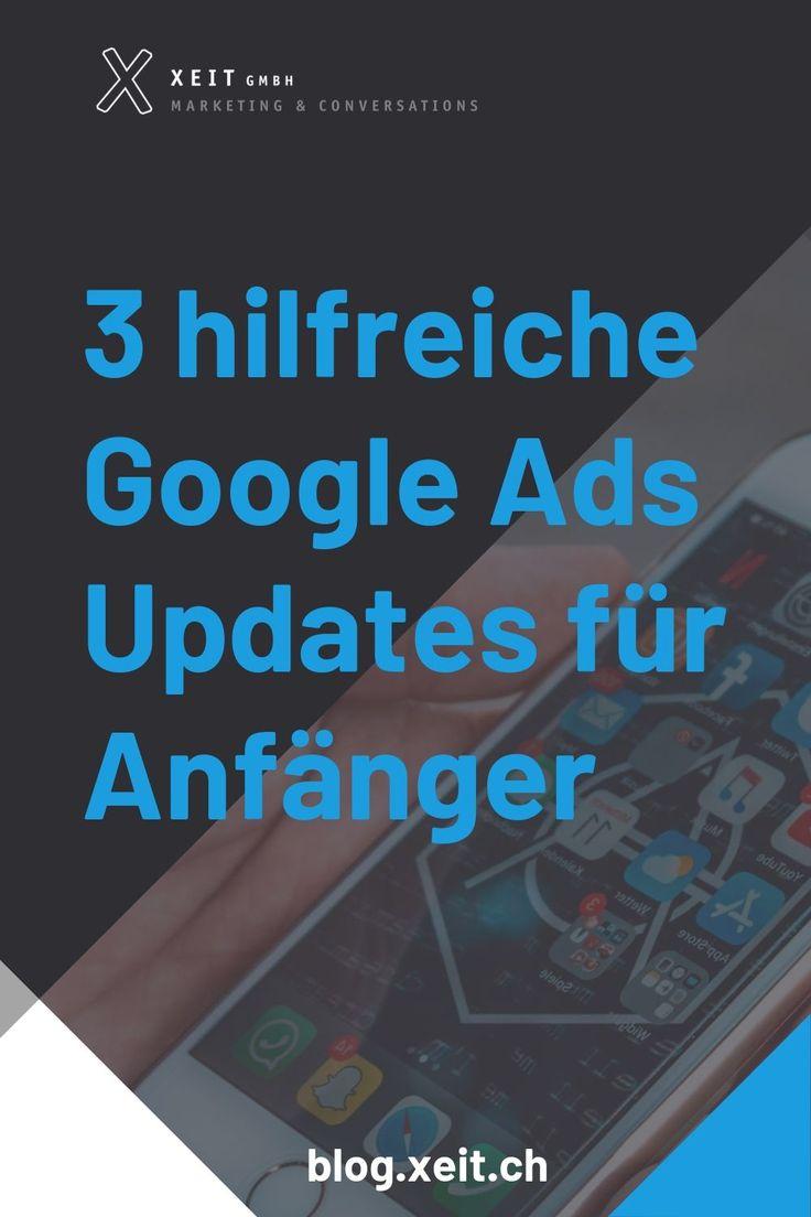 3 hilfreiche Google Ads-Updates für Anfänger
