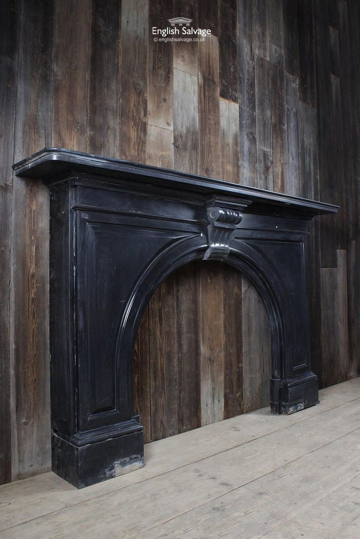 Excellent Reclaimed Black Marble Fireplace Kaminy In 2019 Marble Download Free Architecture Designs Boapuretrmadebymaigaardcom