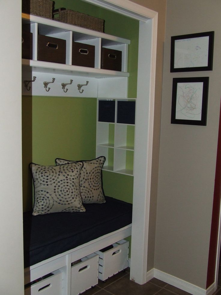 Front Foyer Closet Ideas : Best images about hall closet makeover on pinterest