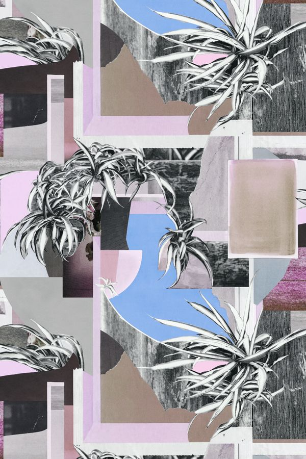 JUN | Collage | Colourway 2 © Shelley Steer