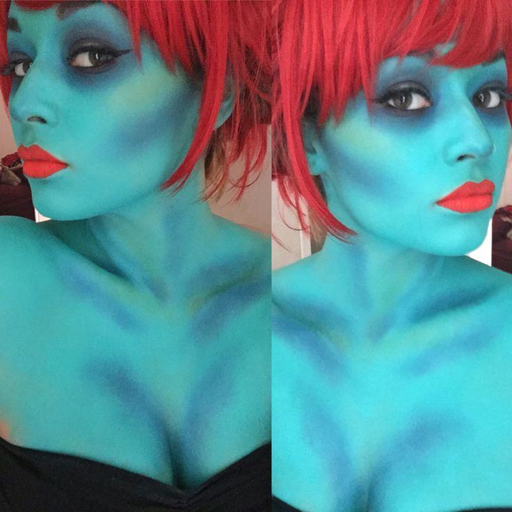 Miss Argentina makeup IG - @Vannanori