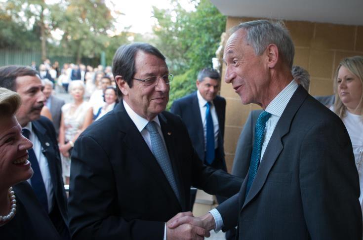 Κιντ προς Αναστασιάδη: Το Ηνωμένο Βασίλειο θα επιδείξει ευαισθησία για τις επιπτώσεις του Brexit στην Κύπρο