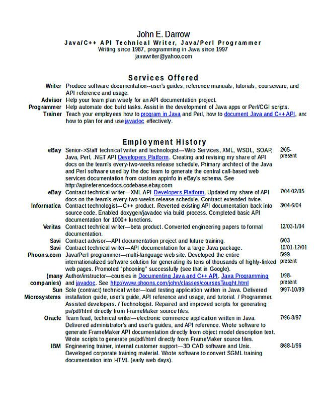 Technical Writer Resume , Good Teachers Resume Format , Writing a resume is not that easy when it is aimed to secure certain result as in applying for a job as a teacher where good teachers resume format is...