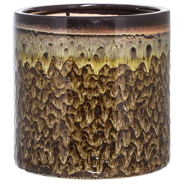 Rustik kruka från Bloomingville. En charmig kruka för vackra blommor eller planteringar av växter. D...