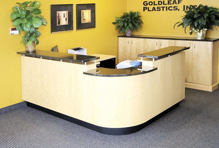 Solid Surface Reception Desk TW-MART-166