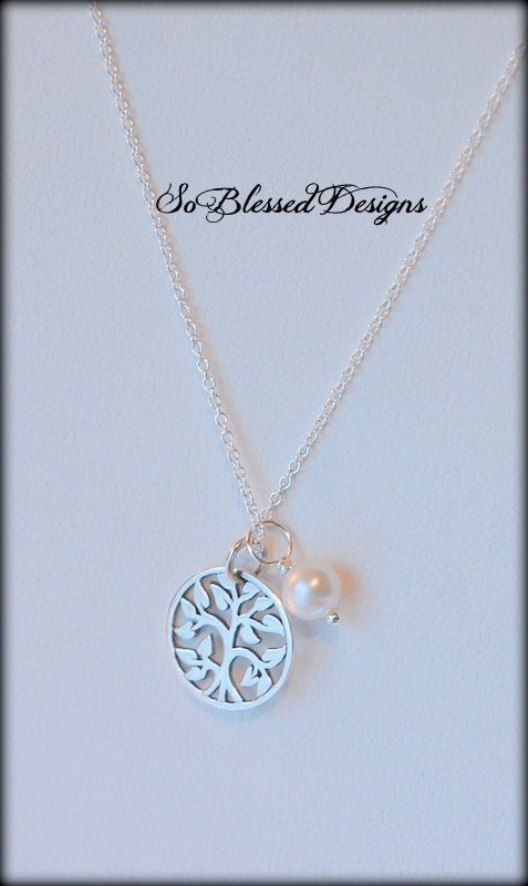 Mother Of The Groom Gift From Bride Gifts Family Tree Necklace