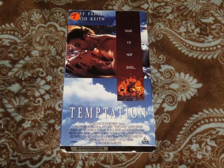 Temptation (VHS, 1994) OOP LIVE! Fahey/David Keith Erotic Thriller! *NOT ON DVD*