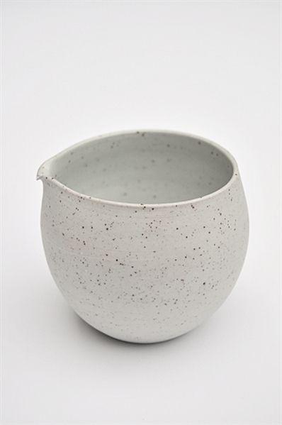 sue paraskeva speckled grey jug