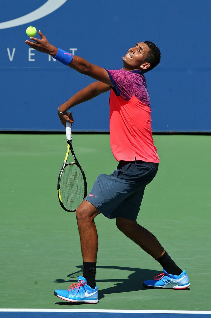 Nick Kyrgios of Australia Photos: US Open: Day 1