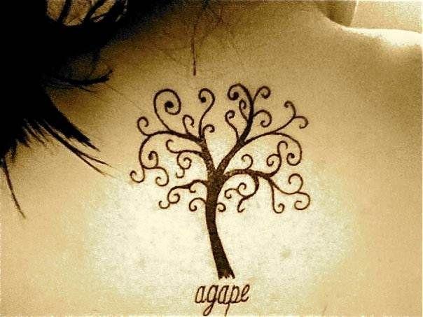 Agape tattoos
