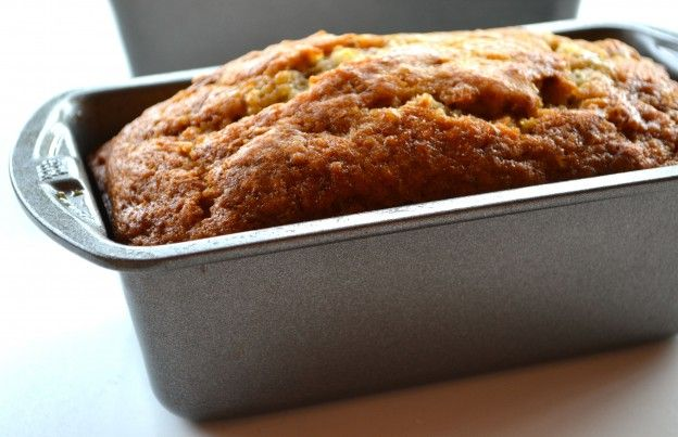 Easy, healthy banana bread recipe | Babble - I Made this and instead of using butter I used plain greek yogurt and turned out awesome!