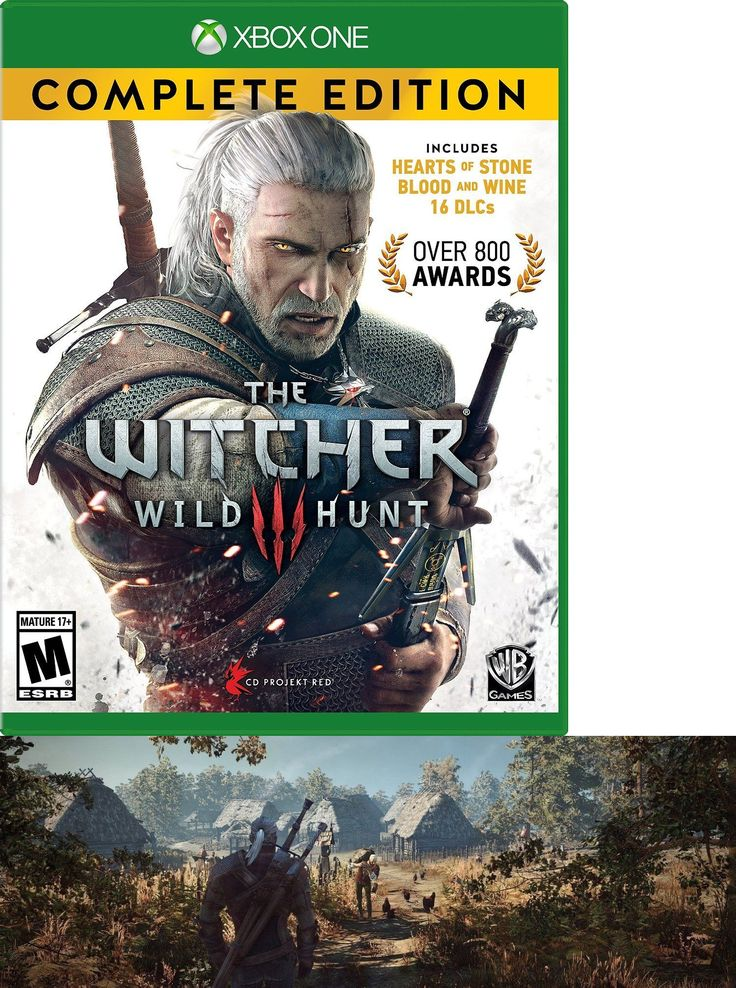 Video Gaming: Brand New - The Witcher 3: Wild Hunt Complete Edition - Xbox One BUY IT NOW ONLY: $33.85