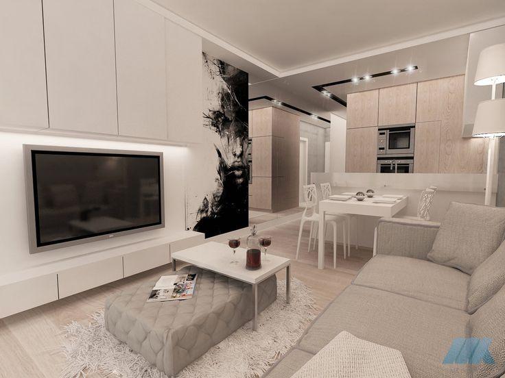 małe mieszkanie wielofunkcyjne