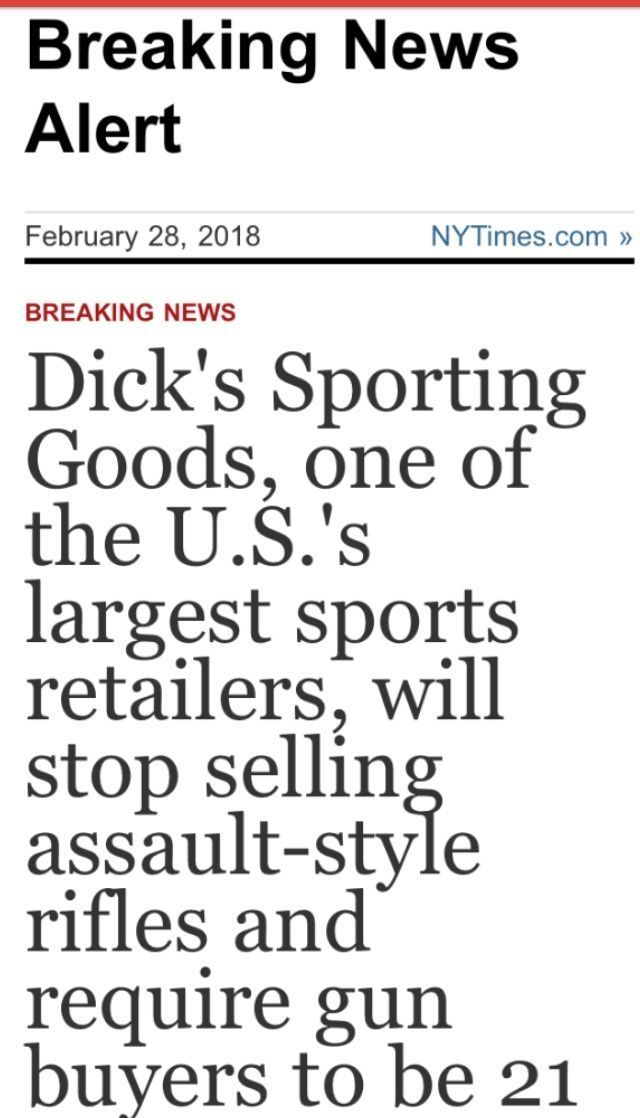 Bravo!!!! Now if we could only get the Dicks in government to follow suit!