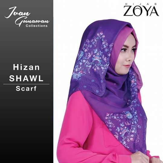 zoya shawl hizan