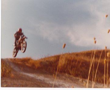 io sul mio Simonini Mustang 1982 circa