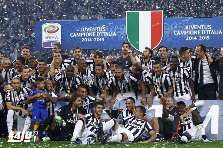 Juventus Campione d'Italia 2014/2015