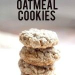 Easy Oatmeal Cookies Recipe - Made with oil only yield 1 1/2 dozen cookies not 3 like it says.