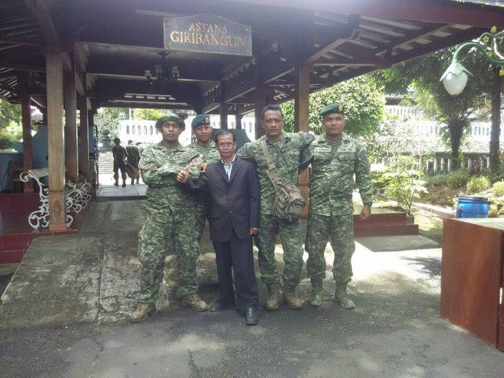 Sekjend menghadiri jiarah Corp Kostrad TNI AD