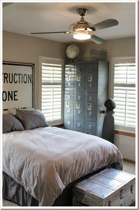 Boys Industrial Room Decor My Home Pinterest