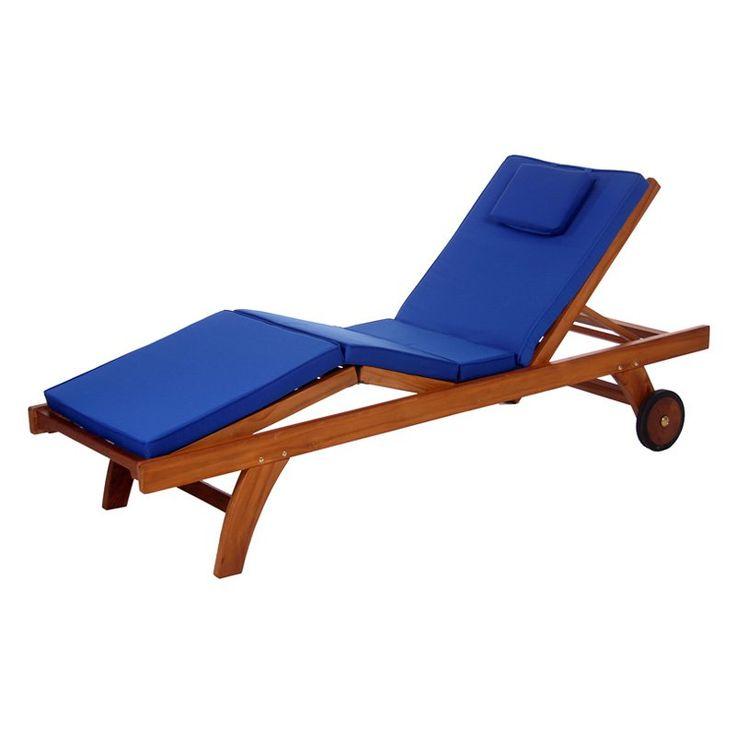 all things cedar chaise lounge outdoor cushion tc70g