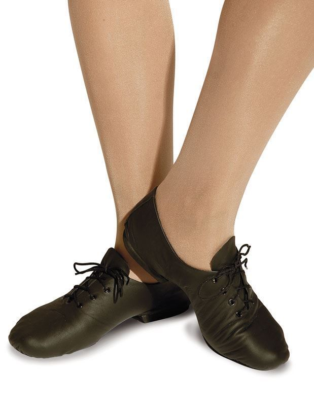 Roch Valley Black Split Sole Leather Jazz Shoes Modern Dance Stage Dancewear Jazz Shoes Peter Pan Shoes Shoes