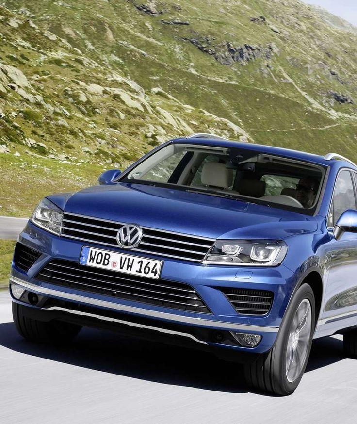 VW TOUAREG IM TEST Sanfter Riese für lange Touren