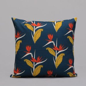 Strelitzia Blue Scatter Cushion - African Inspired
