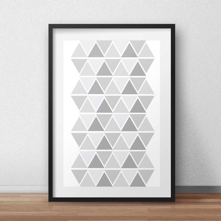 Scandinavian print, scandinavian poster, scandinavian design, scandinavian art, pattern, home decor, art print by HomeDecorDrawing on Etsy