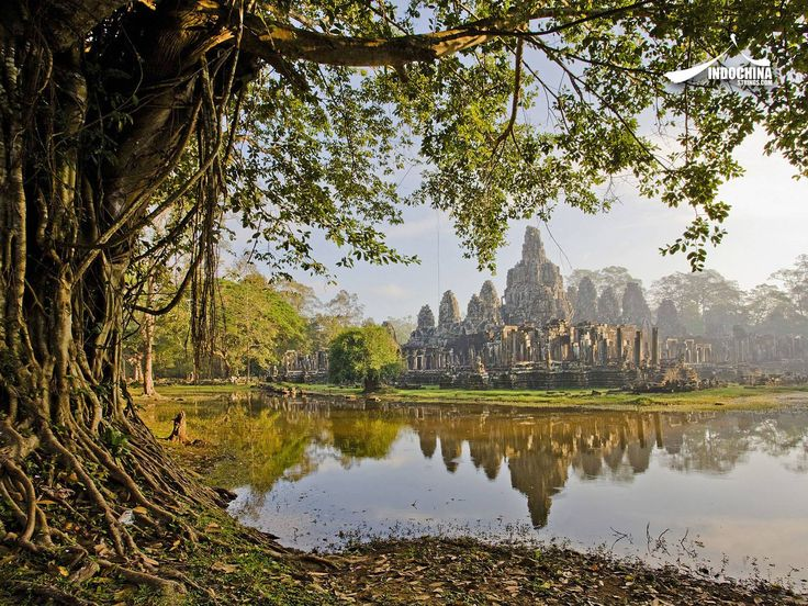 Angkor Thom is undeniably an expression of the highest genius. It is, in three dimensions and on a scale worthy of an entire nation, the materialization of Buddhist cosmology, representing ideas that only great painters would dare to portray.  See more spectacular destinations of Cambodia: http://indochinastrings.com/?page_id=7949