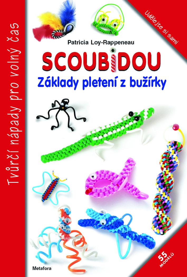 Scoubidou, základy pletení z bužírky - Metafora