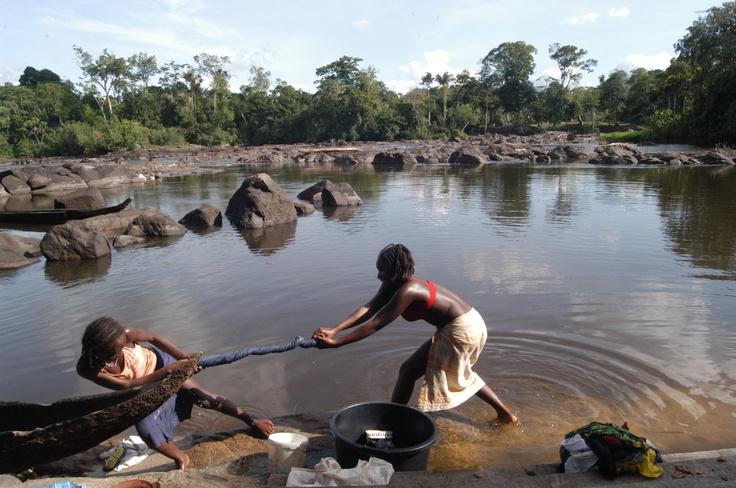 Natuurlijke droogtrommel - Suriname