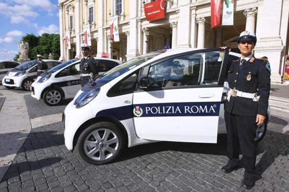 Polizia di Roma, Citroen C-Zero