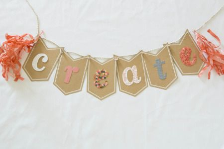 Shelli's Leadership Projects - Celebration Banner Kit used to make this CREATE banner, cards, and a mini album. All supplies from Stampin' Up!