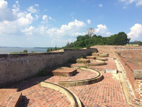 This little star fort down the Potomac from Washington, D.C. was once the only defensive fort protecting the capital.