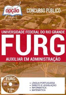 Apostila Concurso FURG 2017 Auxiliar em Administração