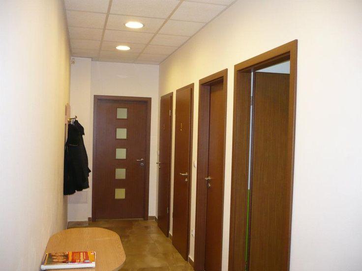 A régi nyelviskola egyik folyosója.