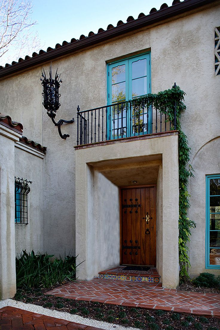213 best spanish style images on pinterest spanish for Spanish style window shutters